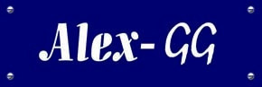 """ALEX - GG"" Ltd. Logo"