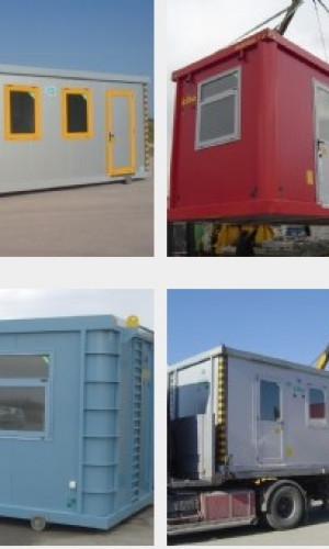 Prefabricated metal cabins Photos