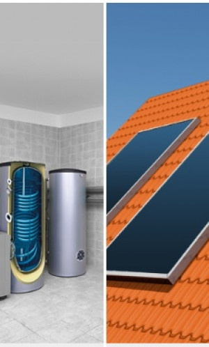 Solar heaters, panels and boilers Photos